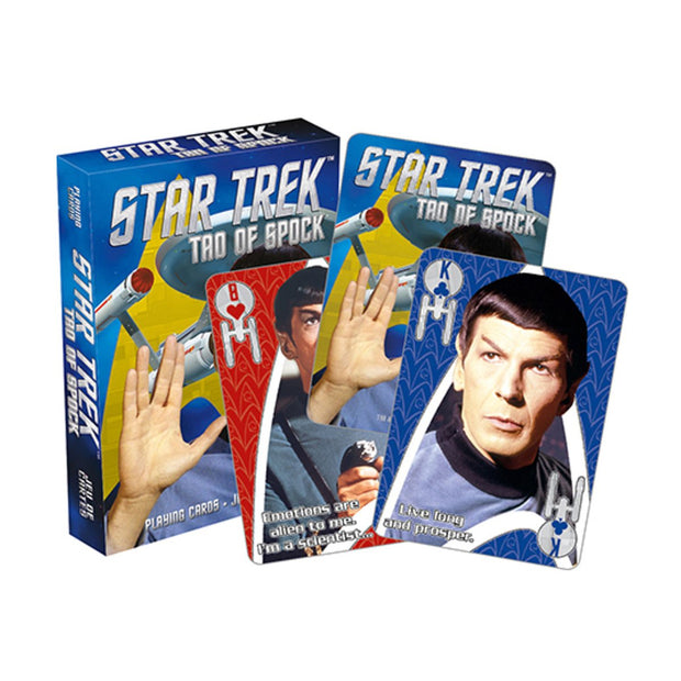 NMR Star Trek Tao of Spock Playing Cards Urban Attitude