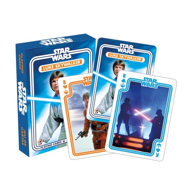 NMR Star Wars Luke Skywalker Playing Cards Urban Attitude