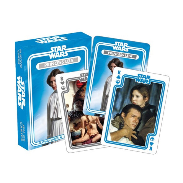 NMR Star Wars Princess Leia Playing Cards Urban Attitude