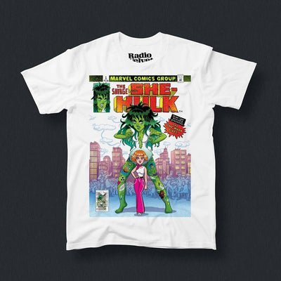 Radio Velvet Marvel T-Shirt - She Hulk Urban Attitude