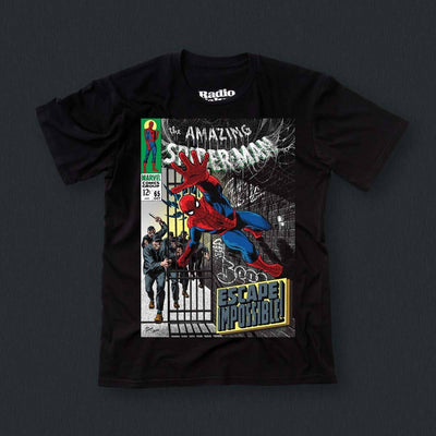 Radio Velvet Marvel T-Shirt Spiderman Urban Attitude