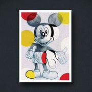 Radio Velvet Mickey Mouse Framed Print - Blair Sayer Urban Attitude