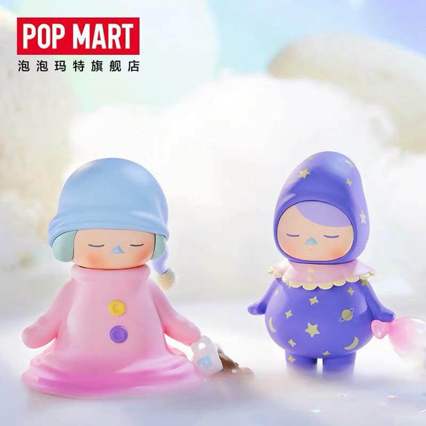 pop mart blind box pucky sleeping babies urban attitude