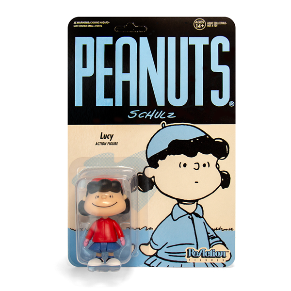 Super7 Peanuts ReAction Figure - Winter Lucy Urban Attitude