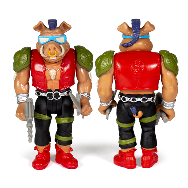 Super7 Teenage Mutant Ninja Turtles ReAction Figure - Bebop Only Urban Attitude