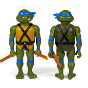 Super7 Teenage Mutant Ninja Turtles ReAction Figure Only - Leonardo Urban Attitude