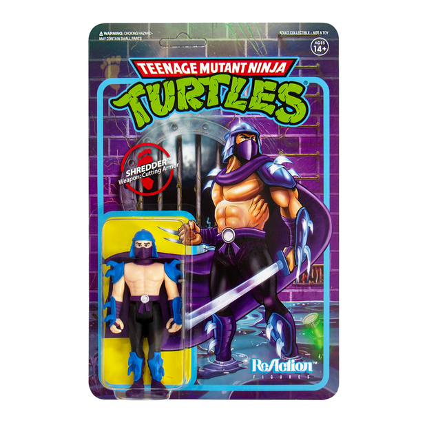 Super7 Teenage Mutant Ninja Turtles ReAction Figure - Shredder Urban Attitude
