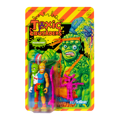 Super7 Toxic Crusaders ReAction Figure -Headbanger Urban Attitude