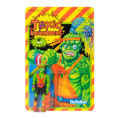 Super7 Toxic Crusaders ReAction Figure - Toxie Urban Attitude