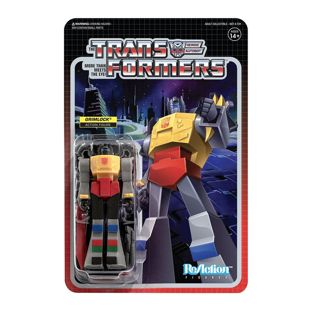 Super7 Transformers ReAction Figure - Grimlock Urban Attitude