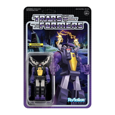 Super7 Transformers ReAction Figure - Shrapnel Urban Attitude