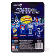 Super7 Transformers ReAction Figure - Starscream Back Urban Attitude
