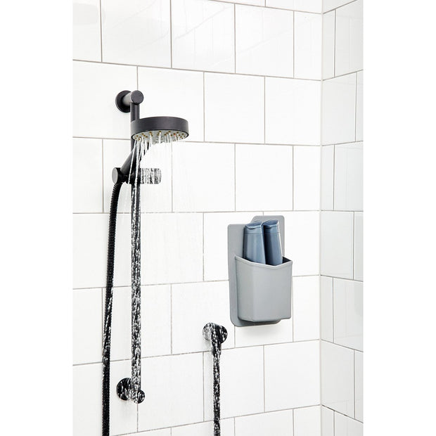 Tooletries The Frank Shower Caddy Grey Tiles Urban Attitude