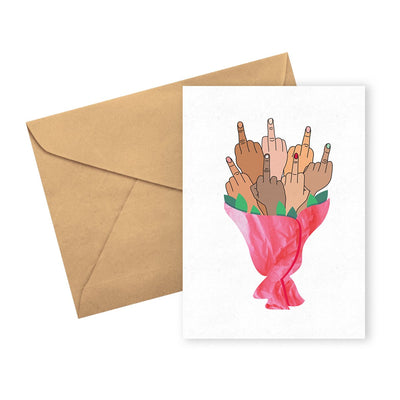 UA Card Finger Bouquet Urban Attitude
