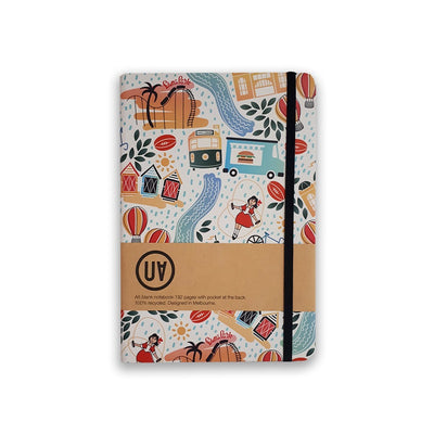 UA Hardcover Notebook Along The Yarra Urban Attitude