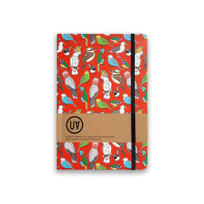 UA Hardcover Notebook Birdlife Urban Attitude