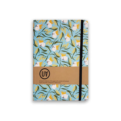 UA Hardcover Notebook Cockatoo & Wattle Urban Attitude