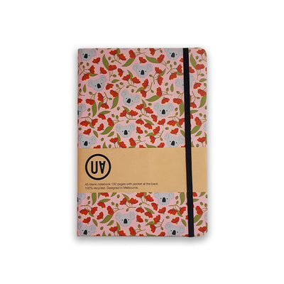 UA Hardcover Notebook Koala & Flowering Gum Urban Attitude