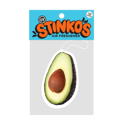 UA Stinkos Car Air Freshener - Avocado Urban Attitude