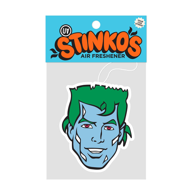 UA Stinkos Car Air Freshener - Captain Planet Urban Attitude