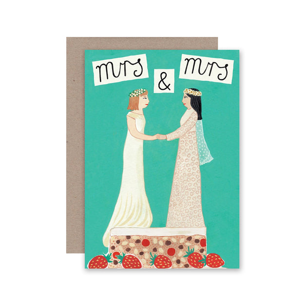 ahd paper co card mrs & mrs HMG0106 urban attitude