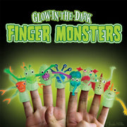 Archie McPhee Glow Finger Monsters Puppets 2 Urban Attitude