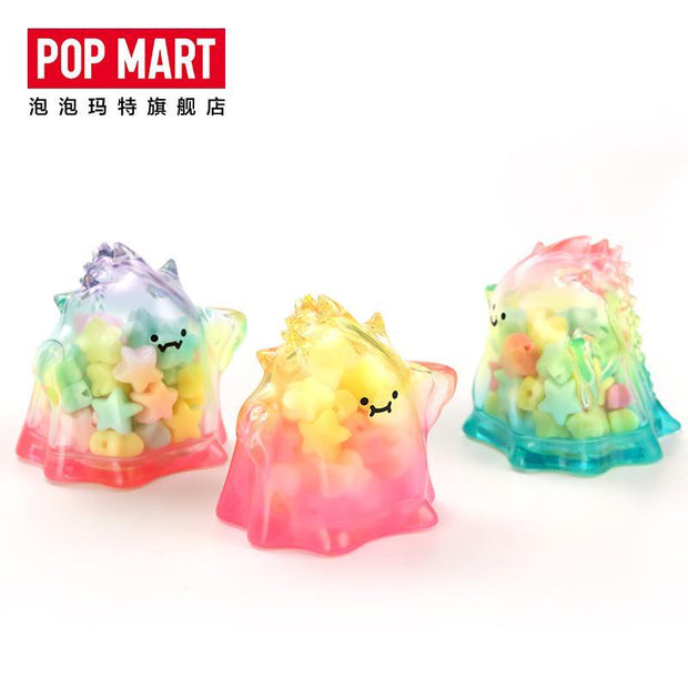 pop mart blind box yuki colour transparent series urban attitude