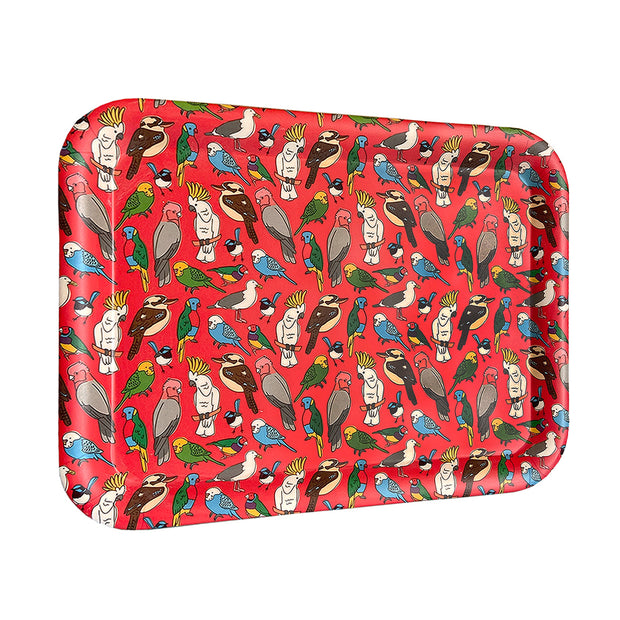 bamboo serving tray birdlife urban attitude