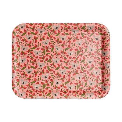 bamboo serving tray koala flowering gum urban attitude