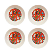bamboo set of 4 bowls bird life urban attitude