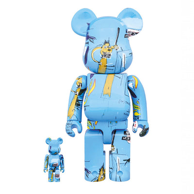 Bearbrick 100% & 400% Set Jean Michel Basquiat Version 4 urban attitude