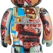 Bearbrick 100% & 400% Set Jean-Michel Basquiat Version 6 PRE-ORDER urban attitude