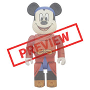 bearbrick 100 400 mickey mouse fantasia preview urban attitude
