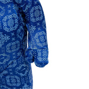 Bearbrick 100% & 400% Set CLOT X Nike Royal University Blue Silk hand urban attitude