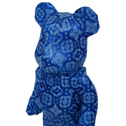 Bearbrick 100% & 400% Set CLOT X Nike Royal University Blue Silk head urban attitude