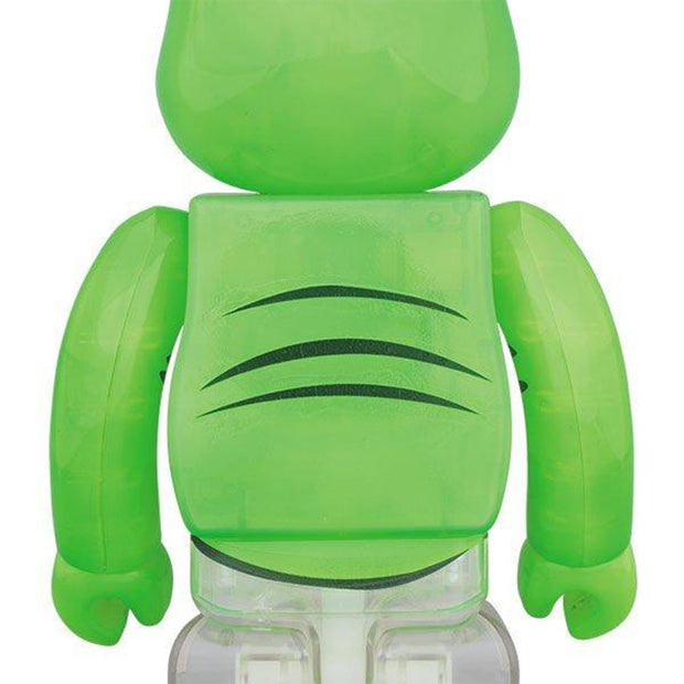 bearbrick 100% 400% set ghostbusters slimer back urban attitude