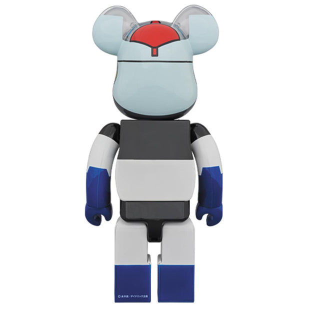 bearbrick 100 400 set mazinger z back urban attitude
