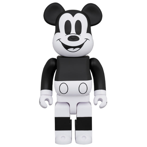 bearbrick 100 400 set mickey mouse black white 2020 version 400 urban attitude