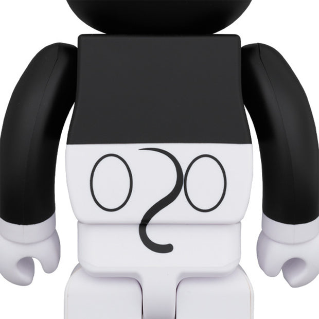 bearbrick 100 400 set mickey mouse black white 2020 version back urban attitude