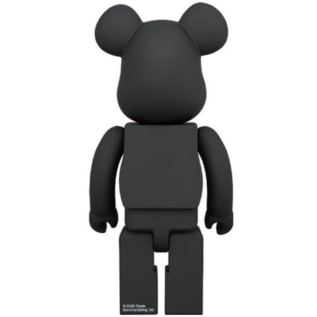 bearbrick 100 400 oasis black rubber coating urban attitude