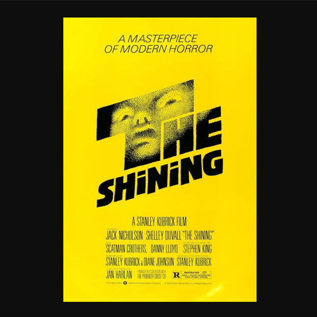 Bearbrick 100% & 400% Set The Shining Poster Version urban attitude