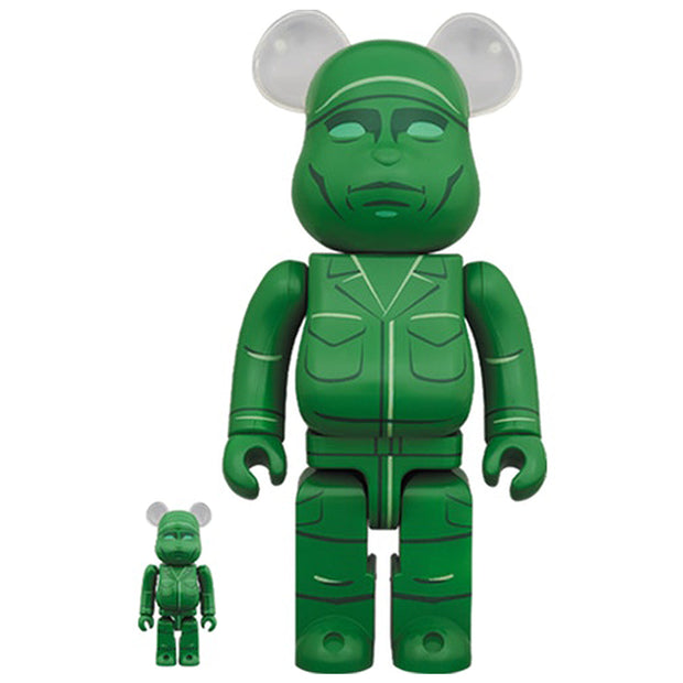 Bearbrick 100% & 400% Set Toy Story Green Army Men urban attitude