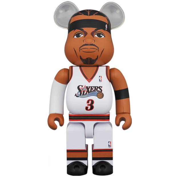 bearbrick 100 and 400 set allen iverson 400 urban attitude