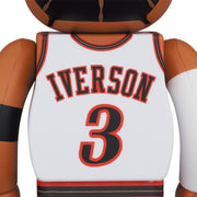 bearbrick 100 and 400 set allen iverson back urban attitude