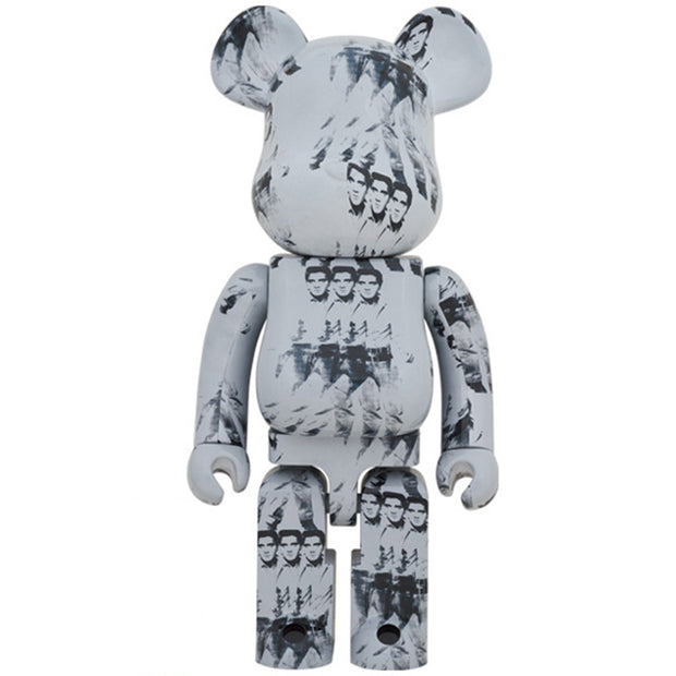 bearbrick 100 and 400 set andy warhol elvis presley 400 urban attitude
