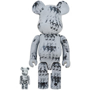 bearbrick 100 and 400 set andy warhol elvis presley urban attitude