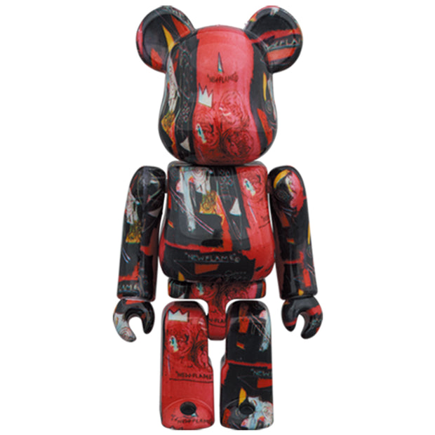 bearbrick 100 and 400 set andy warhol jean michel basquiat 1 100 urban attitude