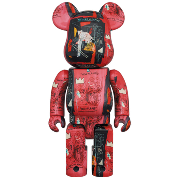 bearbrick 100 and 400 set andy warhol jean michel basquiat 1 400 urban attitude