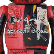 bearbrick 100 and 400 set andy warhol jean michel basquiat 1 back urban attitude