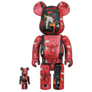 bearbrick 100 and 400 set andy warhol jean michel basquiat 1 urban attitude